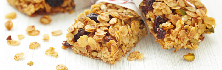 Fiber and Protein Bars
